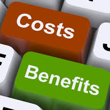 cost + benefit