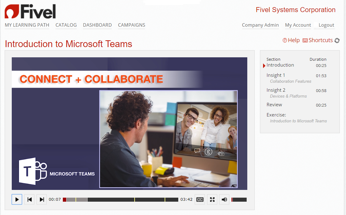 Microsoft Teams Intro